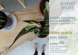 Uitnodiging voor de expositie #10 bij kunstmoes 2015